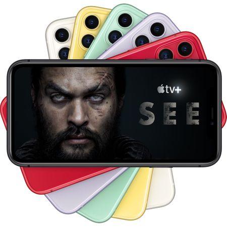 Telefon mobil Apple iPhone 11, 64GB, 4GB RAM, 4G, Black [5]