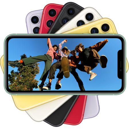 Telefon mobil Apple iPhone 11, 64GB, 4GB RAM, 4G, Black [3]