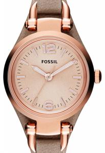 Ceas de dama original Fossil analog cu carcasa rotunda Georgia [1]