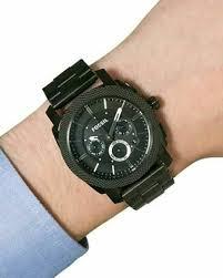 Ceas Pentru Barbati Fossil Machine, Negru, Antioxidabil [3]