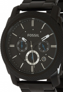 Ceas Pentru Barbati Fossil Machine, Negru, Antioxidabil [0]