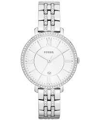 Ceas de dama Fossil Jacqueline cu cristale speciale,Argintiu ES3545 [1]