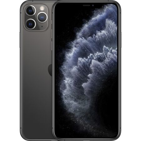 Telefon mobil Apple iPhone 11 Pro Max, 64GB, Negru / Space Grey [0]