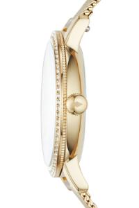 Ceas de dama original Fossil decorat cu cristale lux Neely, Auriu [2]