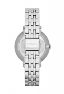 Ceas de dama original Fossil Jacqueline, Argintiu, Antioxidabil, Rezistent la apa 30 m, model  ES3433 [1]