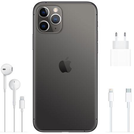 Telefon mobil Apple iPhone 11 Pro Max, 256GB, Space Grey [3]