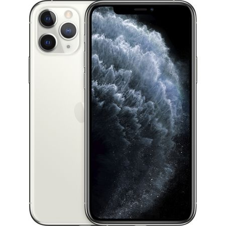 Telefon mobil Apple iPhone 11 Pro Max, 256GB, Silver, Argintiu [0]