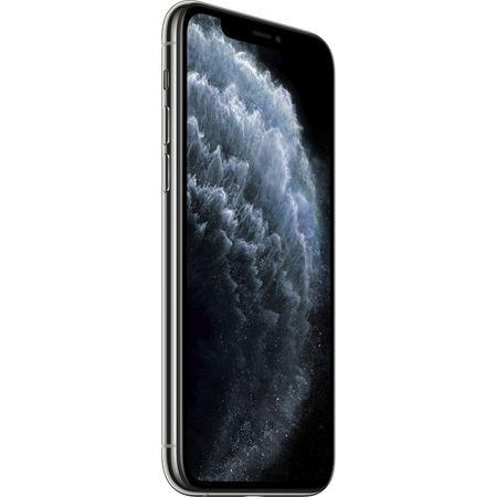 Telefon mobil Apple iPhone 11 Pro Max, 256GB, Silver, Argintiu [2]