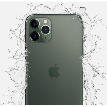 Telefon mobil Apple iPhone 11 Pro Max, 64GB, Midnight Green [4]
