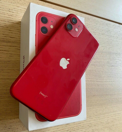 Telefon mobil Apple iPhone 11, 64GB, Red [3]