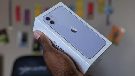 Telefon mobil Apple iPhone 11, 64GB, Purple Mov [5]