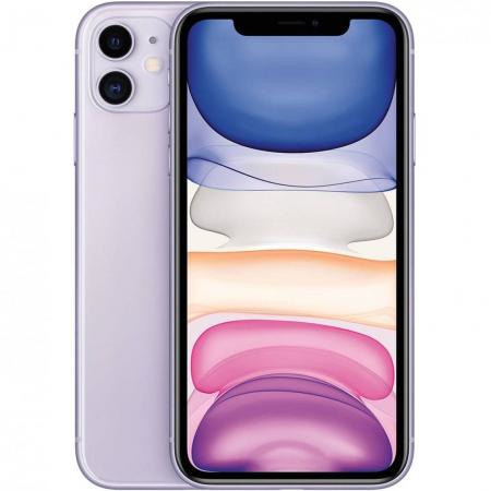 Telefon mobil Apple iPhone 11, 64GB, Purple Mov [9]