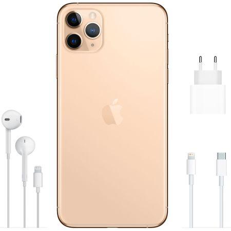 Telefon mobil Apple iPhone 11 Pro Max, 64GB, Gold [2]