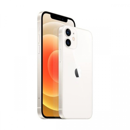 Telefon mobil Apple iPhone 12 White, Alb, 64GB, Dual eSim, Super retina XDR [3]