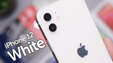 Telefon mobil Apple iPhone 12 White, Alb, 128GB, Dual eSim, Super retina XDR [6]