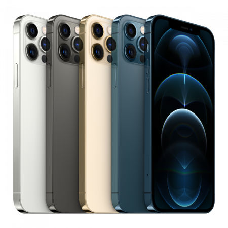 Telefon mobil Apple iPhone 12 Pro Max Pacific Blue 128GB [2]