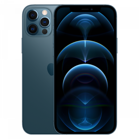 Telefon mobil Apple iPhone 12 Pro Pacific Blue 128GB + Folie Sticla Cadou [0]