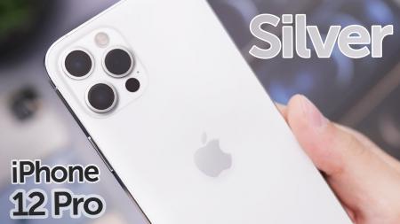 Telefon mobil Apple iPhone 12 Pro Silver Argintiu 129GB, Sigilat [7]