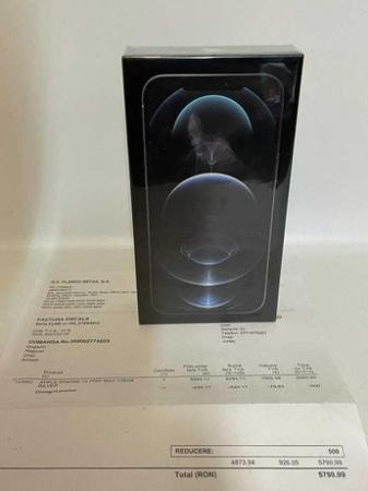Telefon mobil Apple iPhone 12 Pro Silver Argintiu 129GB, Sigilat [6]