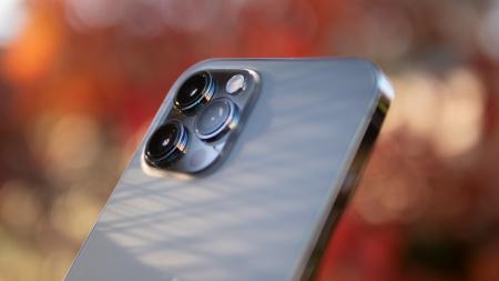 Telefon mobil Apple iPhone 12 Pro Max Pacific Blue 128GB [20]