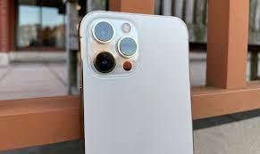 Telefon mobil Apple iPhone 12 Pro Max Pacific Blue 128GB [18]