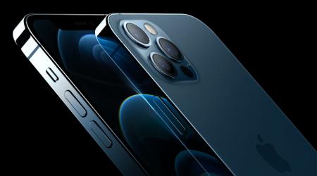 Telefon mobil Apple iPhone 12 Pro Max Pacific Blue 128GB [14]