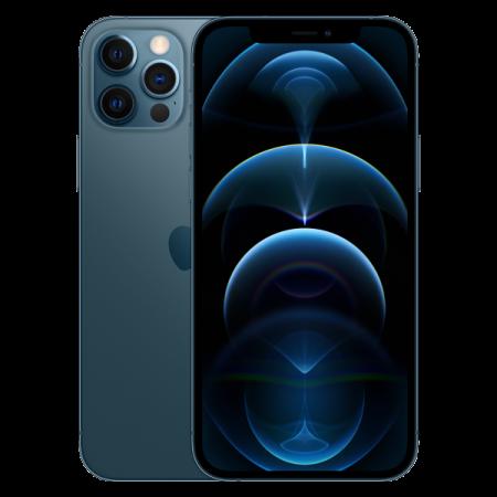 Telefon mobil Apple iPhone 12 Pro Max Pacific Blue 128GB [9]
