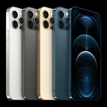 Telefon mobil Apple iPhone 12 Pro Pacific Blue 128GB + Folie Sticla Cadou [11]