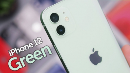 Telefon mobil Apple iPhone 12 Green,Verde, 64GB, Dual eSim, Super retina XDR [5]