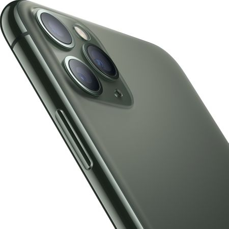 Telefon mobil Apple iPhone 11 Pro Max, 64GB, Midnight Green [1]