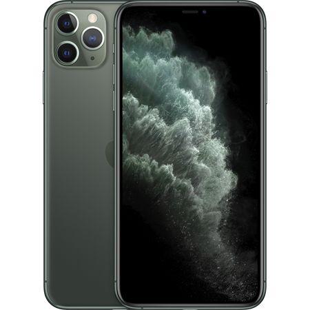 Telefon mobil Apple iPhone 11 Pro Max, 64GB, Midnight Green [0]