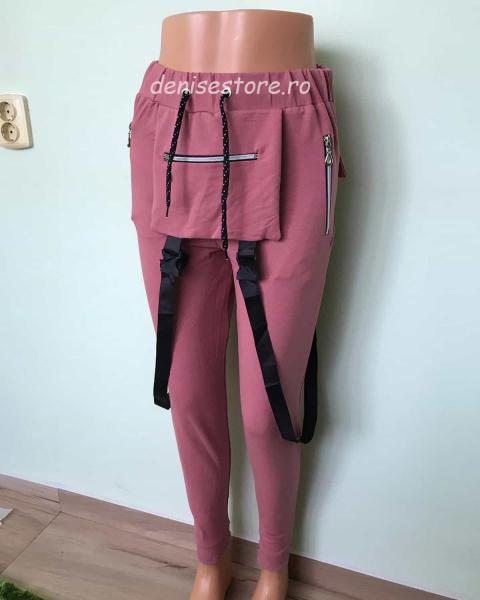 Pantaloni Modern Pink 0