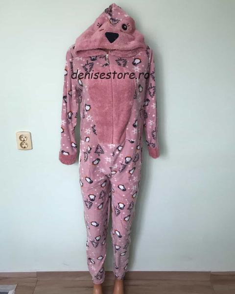 Pijama Salopeta Bear Pink 0
