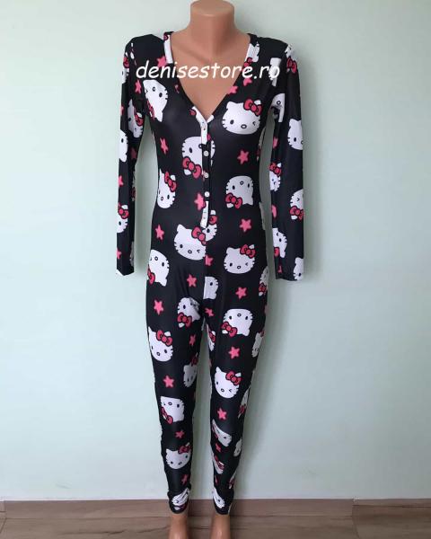 Salopeta Pijama HK Black [0]