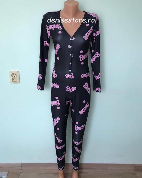 Salopeta Pijama Brbe Black 0