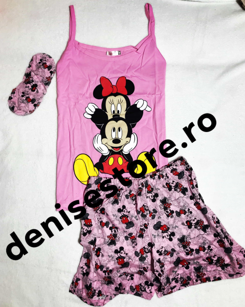 Pijama 2 Mickey Pink 0
