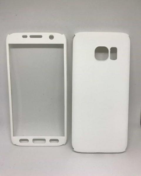 Husa 360 Plastic White Samsung Galaxy S7 0