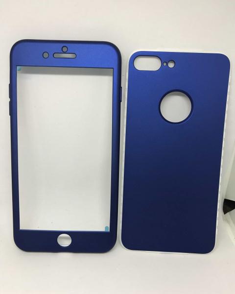 Husa 360 Silicon Blue iPhone 7 Plus / iPhone 8 Plus [0]