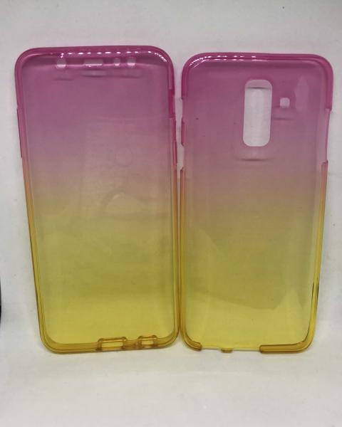 Husa 360 Silicon Degrade Samsung Galaxy A6 Plus 2018 [0]