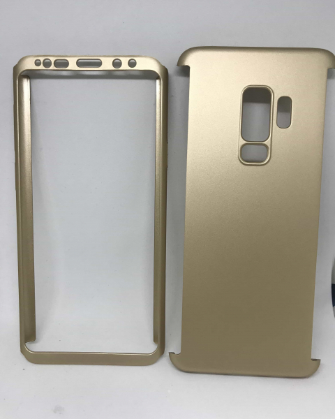 Husa 360 Plastic Gold Samsung Galaxy S9 Plus 0