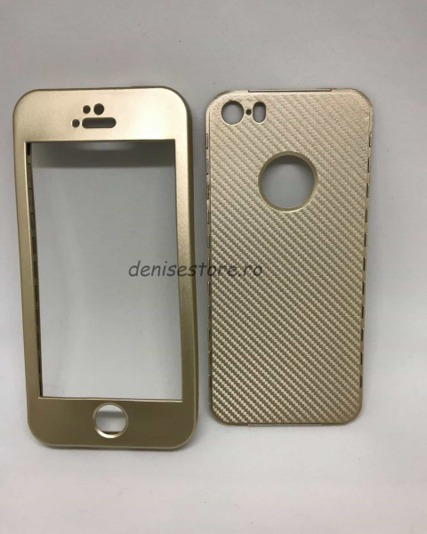 Husa 360 Silicon Gold Gradient iPhone 5/5s/SE 0
