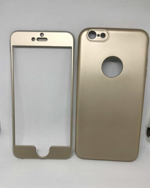 Husa 360 Silicon Gold iPhone 6 Plus/ 6s Plus 0