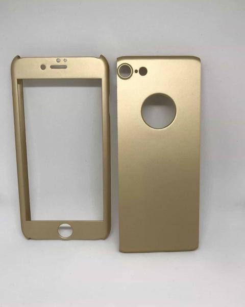 Husa 360 Plastic Gold2 iPhone 7 / iPhone 8 0
