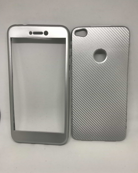 Husa 360 Silicon Gradient Gri Huawei P8 Lite 2017/P9 Lite 2017 [0]
