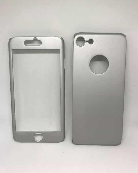 Husa 360 Plastic Silver iPhone 7 / iPhone 8 0