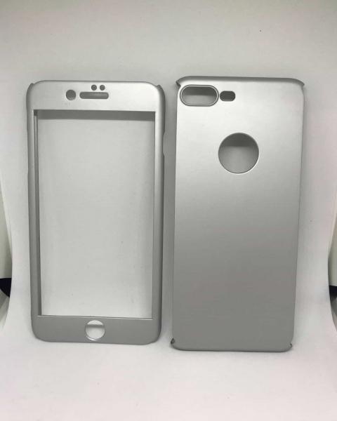 Husa 360 Plastic Silver iPhone 7 Plus / iPhone 8 Plus [0]