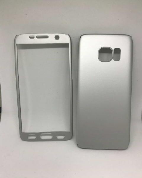 Husa 360 Plastic Silver Samsung Galaxy S7 0