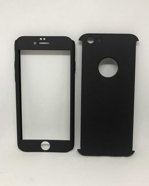 Husa 360 Plastic Negru iPhone 6/6s 0