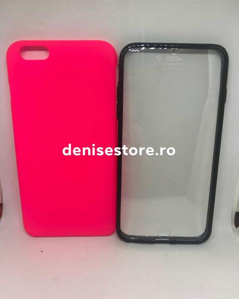 Husa 360 Neon Pink iPhone 6 Plus/ 6s Plus 0