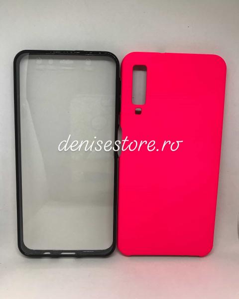 Husa 360 Pink Neon Samsung Galaxy A7 2018 [0]